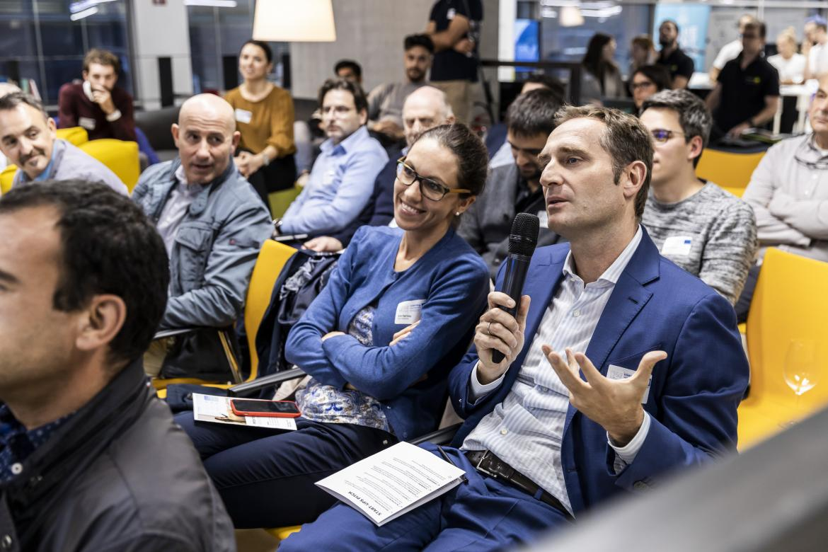 Pitch to Investors Business Angels | Credits: Tiberio Sorvillo